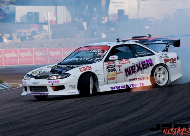 He was second in the penultimate round of the Pro drift Europe series.