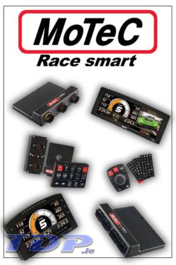 MoTeC ECU, PDM, Dash Display, Video, Diff Controllers